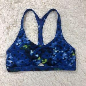 Lululemon Intrinsic Sports Bra Size 6 Blue